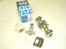 "Nos! Kwikset ""300"" Privacy Door Lockset, Standard, Fin: Us3 Brass"