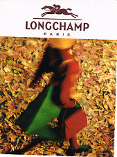 PUBLICITE ADVERTISING  1993   LONGCHAMP   bagages maroquinerie