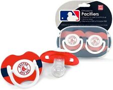 Boston Red Sox Pacifiers 2 Pack Set Infant Baby Fanatic BPA Free MLB