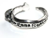 ONCE UPON A TIME EMMA SWAN TALISMAN Dagger Dark One Adjustable Ring