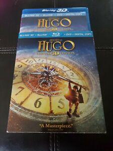 Hugo 3D (Blu-ray/DVD/ No Digital), 3-Disc Set) with Slipcover