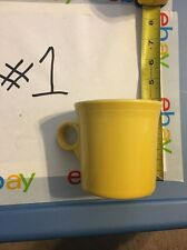 Fiesta HLC USA Homer Laughlin China Co Yyd Lead Free Yellow Cup