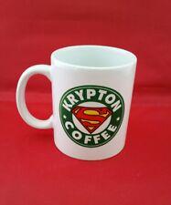 Superman Supergirl Smallville v Batman Starbucks Inspired Coffee Mug 10oz