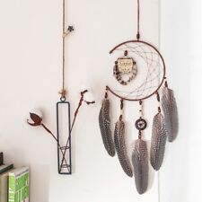 Creative Owl Feathers Dream Catcher Car Wall Hanging Decor Ornament