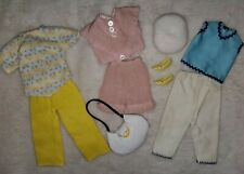 Vintage Barbie Clone Mix N Match Outfits Wendy Miss Suzette Tammy Purse Hat Lot