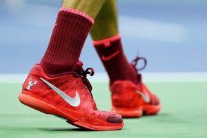 Nike Grip Tennis Sock Large Roger Federer Rafa Nadal US Open Brand New Rare