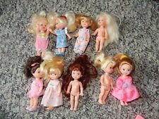 lot of Barbie Krissy dolls