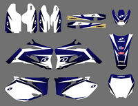 Decal Sticker Graphic Kit Motocross For Yamaha YZ250F YZ450F 2006-2009