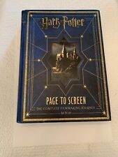 Harry Potter Page to Screen The Complete Filmmaking Journey *read*