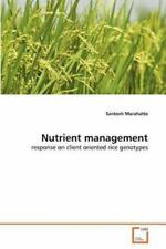 Nutrient Management by Santosh Marahatta (2011, Paperback)