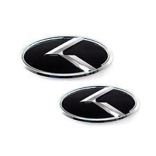 3D K Logo Front Hood Rear Trunk Emblem 2p For 2011-2014 Hyundai i45 : YF Sonata