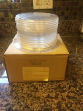Federal Signal Clear Safety Strobe Beacon Lens Cover Model 651