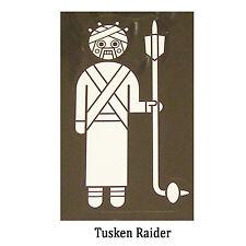 Star Wars Decal: Tusken Raider (75x130mm) aka sand people.