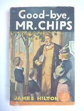 GOOD-BYE, MR. CHIPS by JAMES HILTON 1944 1ST EDITION POCKET BOOKS VINTAGE PB VG+