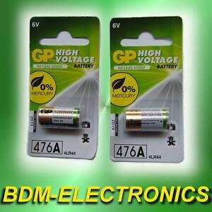 * 2x ErsatzAkku für PetSafe Multivet Antibell Halsband Empfänger-Batterie 6V