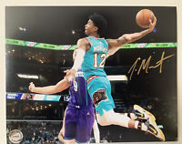 JA MORANT MEMPHIS GRIZZLIES Hand Signed Autographed 8X10 Photo With COA NBA Star