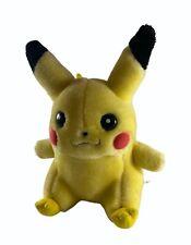 "Pokemon Pikachu 9"" vintage Soft Plush Toy (1998)  Serial: 93331"