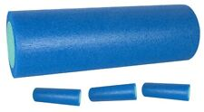 Yoga Foam Roller Muscle Therapy Home Gym Exercise Fitness Yoga Blue 45cm