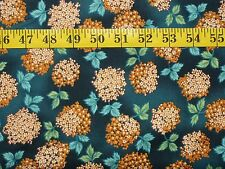 "Andover Fabrics-""Asian Splendor"" Coll. Teal - BTY"