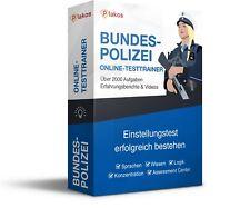 ✔️ Bundespolizei Online-Testtrainer / Einstellungstest | erfolgreich bestehen!