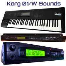 Korg 01/W O1/W 03R/W 05R/W - Largest Sound Collection