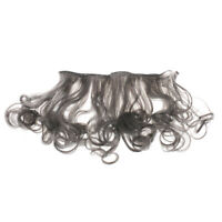 Fashion 15cm High-temperature Wire Curly Wavy Doll Wigs for Dolls Dark Grey