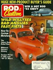 ROD & CUSTOM 1992 APR - GASSER SPECIAL, HOW TO PEAK A HOOD, IFS FOR F-100