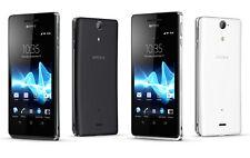 """New Unlocked Sony Xperia V LT25i 8GB Android Smartphone 4.3"""" GPS 13MP White"""