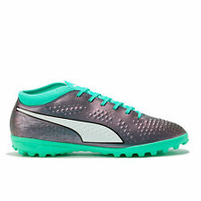 PUMA One 4 Synthetic Astroturf Trainers Sports Shoes Blue Mens Football