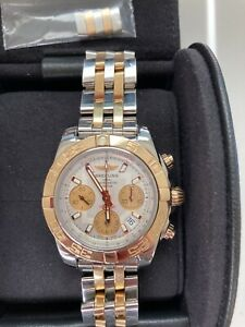 Breitling Chronomat 41, Gold And Steel. Recently Full Serviced. Perfect