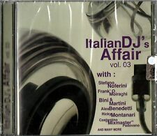 ITALIAN DJ'S AFFAIR VOL 3 NOFERINI MOIRAGHI BINI & MARTINI CD SEALED ITALY