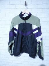 Vintage Shell Suit Jacket Top Festival Tracksuit Windbreaker 80s/90s XL D5979