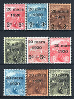 "MONACO STAMP N° 34/42 "" MARIAGE PRINCESSE CHARLOTTE 9 TIMBRES"" NEUF xx LUXE R968"