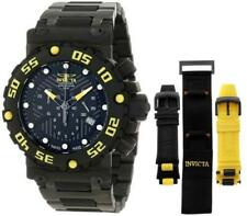 Invicta 10048 Subaqua Nitro Swiss Made Chronograph Date Extra Straps Mens Watch