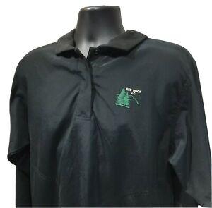 Zero Restriction Women's Golf Outerwear Pullover Rainshirt Red Hook CC Size M