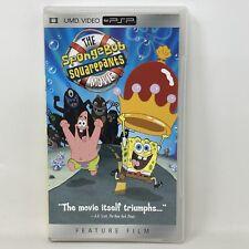 The Spongebob Squarepants Movie PlayStation Portable PSP UMD Video Movie Tested