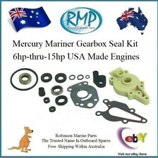 Mercury & Mariner 6 8 9.9 15 HP Full Gearbox Seal Kit.