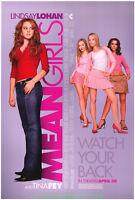 MEAN GIRLS MOVIE POSTER Original SS 27x40 LINDSAY LOHAN 2004 Film