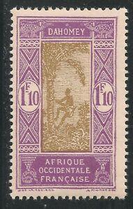 Dahomey #79 (A5) VF MNH - 1928 1.10fr Man Climbing Oil Palm