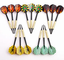 15 Packs of Dart Soft Tip Darts for Electronic Dartboard Plactic Tips Points US