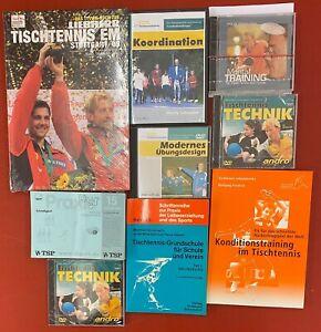 Tischtennis Trainingshilfen Bücher, DVD, CD, Mentales Training, Praxis Pur, NEU