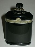 Vintage Caron Nuit de Noel Perfume Baccarat Glass Bottle 1 OZ Sealed 3/4+ Full