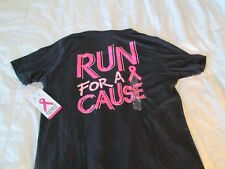"""BRAND NEW Womens UNDER ARMOUR Graphic """"RUN FOR A CAUSE"""" PIP Md FREE SHIPPING"""