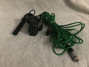 Sony ECM-NV1 shotgun microphone, belden 1172a microphone cable and more