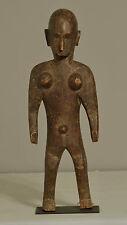 African Bamana Female Statue Mali Fertility Initiation Ceremonial Female Statue