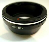 Canon EOS EF EF-S mount lens adapter to Sony E mount cameras ILCE a6500 a6300 5R
