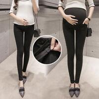 Pregnant Maternity Adjustable High Waist Pant Women Elastic Oversized Legging HX