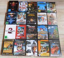 120 PC Spiele Spielesammlung Konvolut gebrauchte Computerspiele