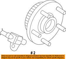CHRYSLER OEM-Front Wheel Hub & Bearing 68024245AA