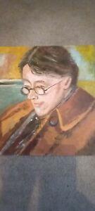 Oil Painting Portrait Bloomsbury Group by Simon Cole Original